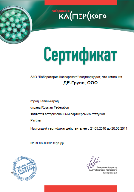 Kaspersky Partner DE-Group